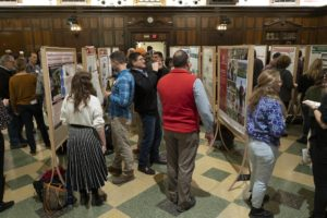 Attendants at the Fall 2019 Poster Session & Reception